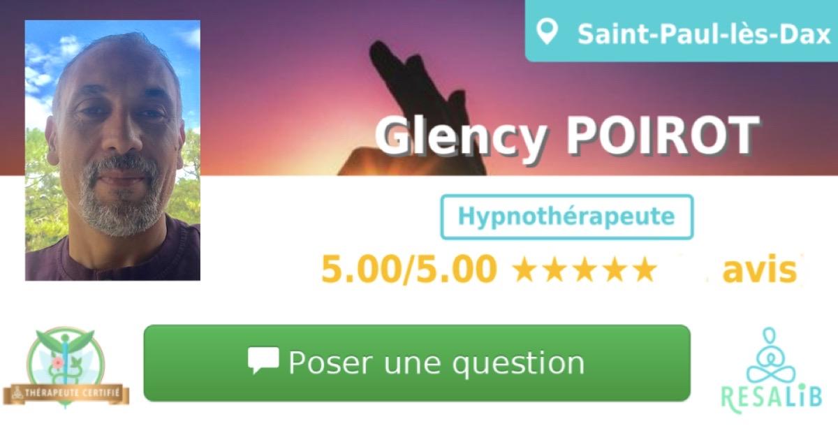 Consulter le profil de Glency POIROT sur Resalib l'annuaire des médecines douces et des thérapeutes