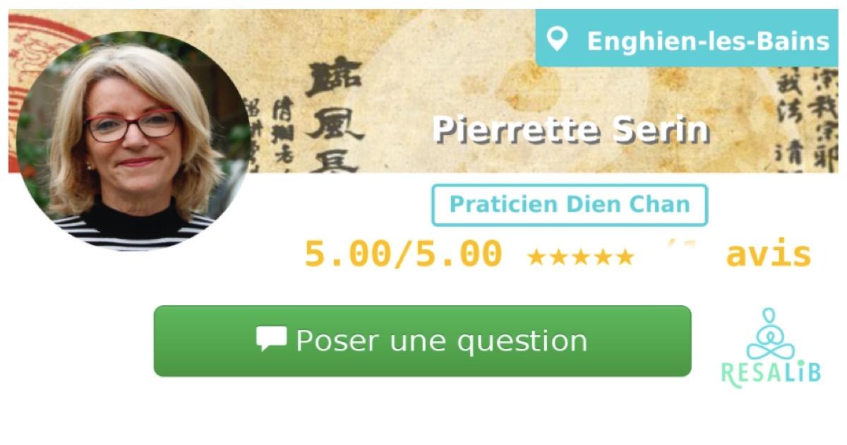 Consulter le profil de Pierrette SERIN sur Resalib l'annuaire des médecines douces et des thérapeutes